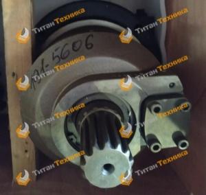 Гидромотор редуктора хода для экскаватора Hyundai R210LC-7 Титан Техника