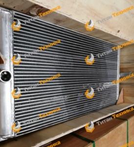 Радиатор водяной для экскаватора Caterpillar 320D (new type) Титан Техника