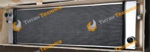 Радиатор водяной для экскаватора Doosan DX500 Титан Техника