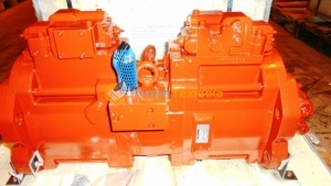 Гидравлический насос Kawasaki K3V112DTP-1M9R-9CB9+1F Титан Техника