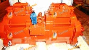 Гидравлический насос Kawasaki K3V112DT-1CER-9C32-2CL Титан Техника