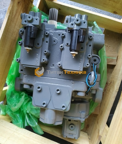картинка Гидравлический насос для экскаватора Hitachi ZX200-3 от Титан Техники