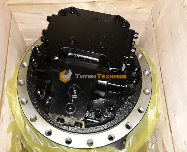 картинка Редуктор хода в сборе с гидромотором для экскаватора Hyundai R290LC-3 от Титан Техники